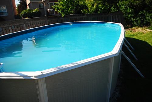 Above ground pool sold for sale item weblink bennylin for Above ground pools for sale