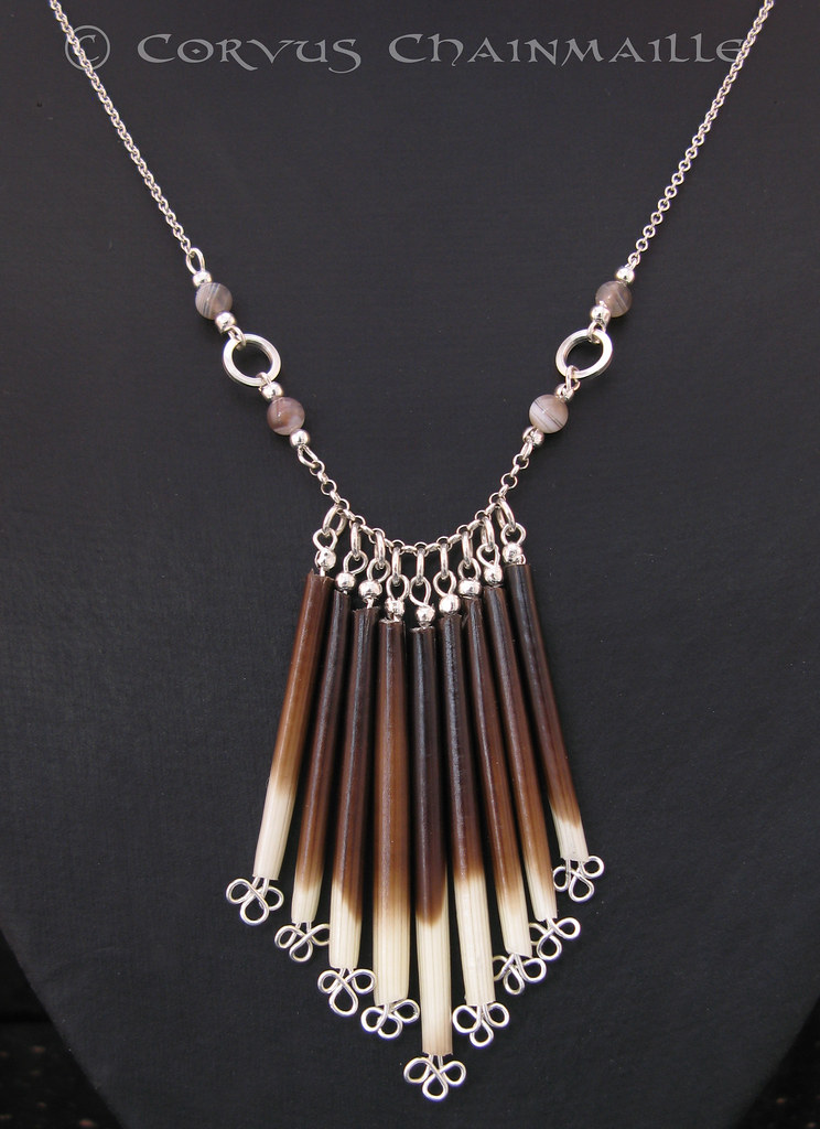Porcupine Quill Jewelry African Porcupi...