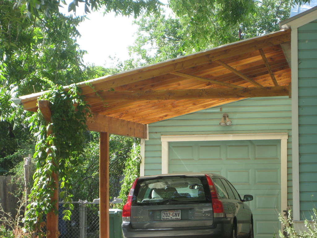 simple but nice carport flickr photo sharing. Black Bedroom Furniture Sets. Home Design Ideas