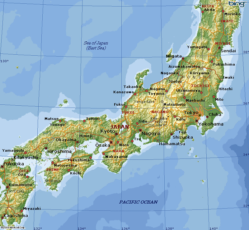 AJapan HonshuKyoto And Nara This Map To Situate The Ma Flickr - Japan map nara