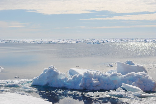 ice berg and ice - copyright Hollingham/SAMS | by bbcworldservice