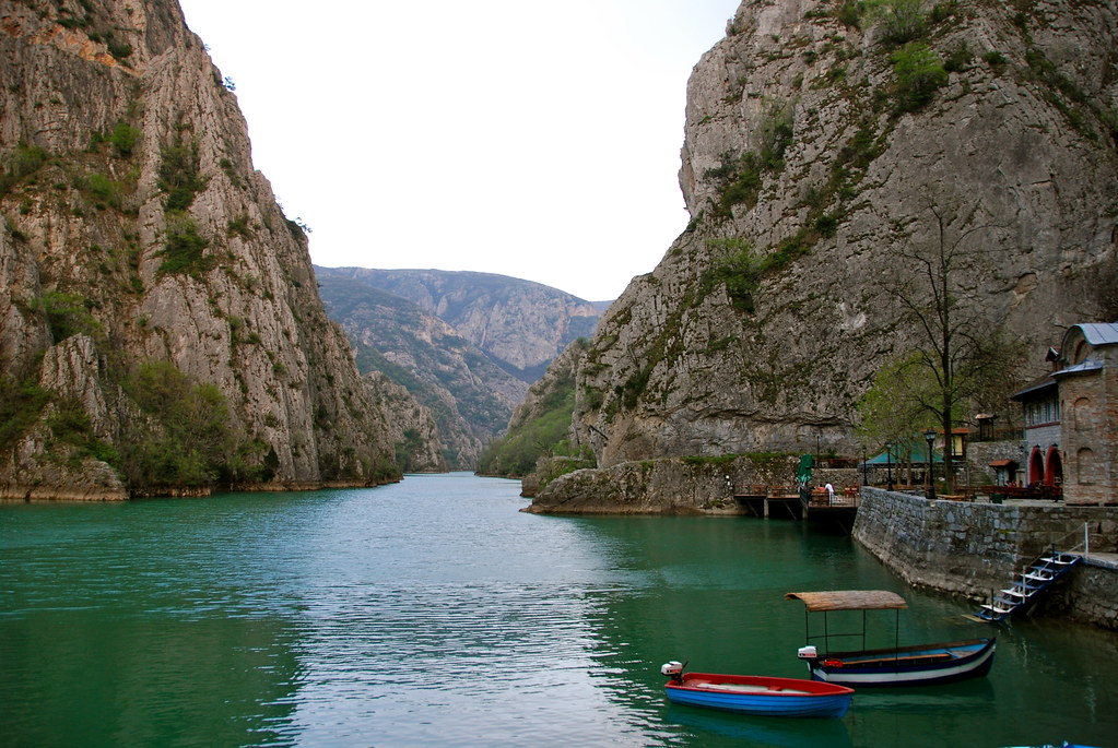 Canyon Matka - Outer Beauty Of The Earth, Cave Vrelo - It's Inner Perfection