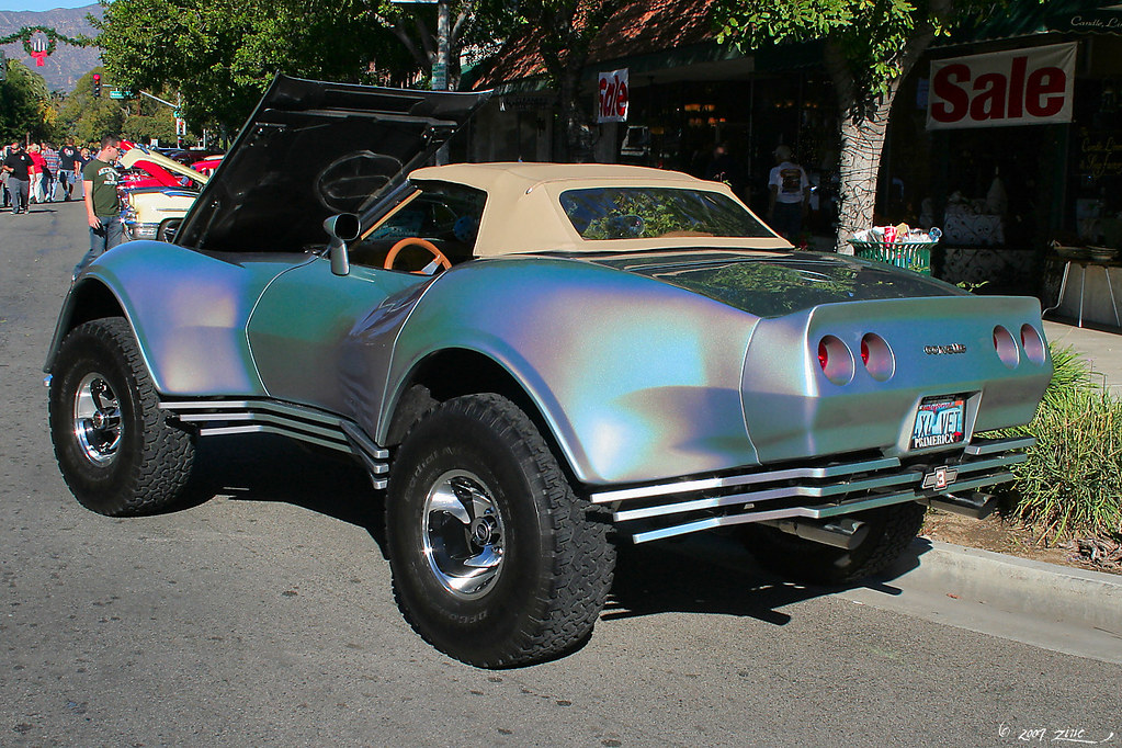 19xx Chevrolet Corvette Custom 4x4 4 Rex Gray Flickr