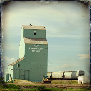 Brant, Wooden Grain Elevator | by fields of bohemia