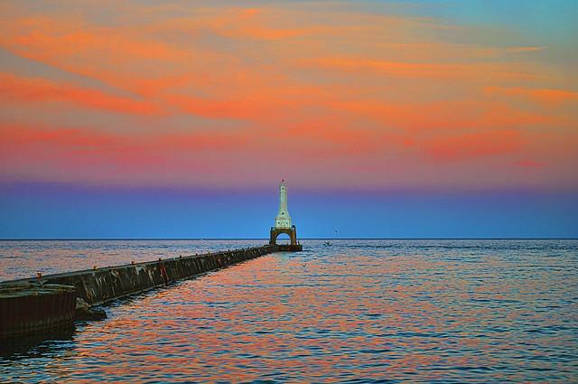 Port washington wi break water flickr photo sharing for Port washington wi