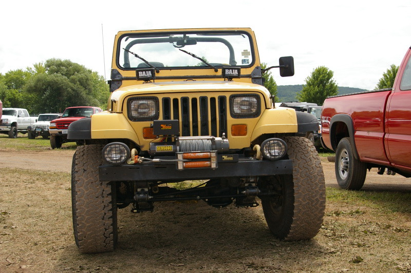 Jeep Wrangler - YJ with Mile Marker Winch | Bloomsburg, PA ...