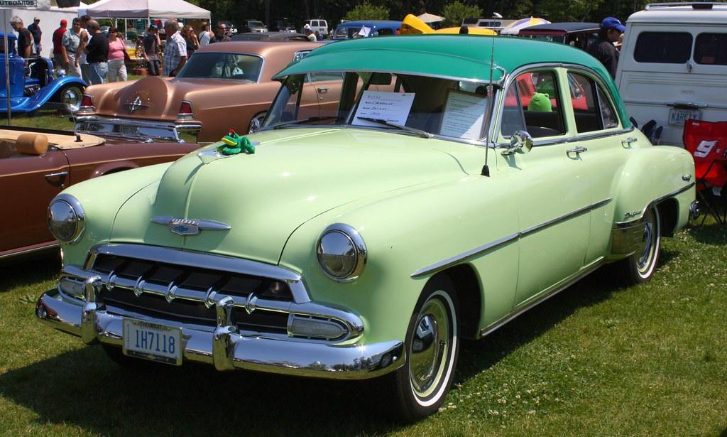1952 chevrolet styleline deluxe 4 door richard for 1952 chevy 4 door