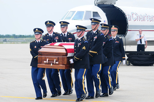 U.S. Army Spc. Keenan Cooper Remains Arrive in North Dakota | by DVIDSHUB