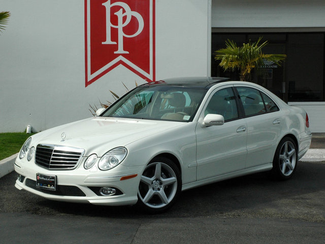 2008 mercedes benz e350 amg sport arctic white cashmere for Mercedes benz e 350 2008
