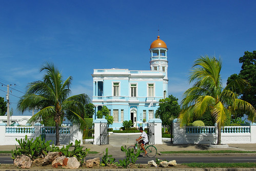 The Blue House, Cienfuegos, Cuba | by Iker Merodio | Photography