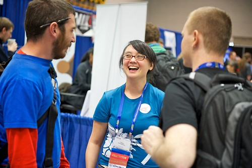 OSCON Exhibit Floor | by O'Reilly Conferences