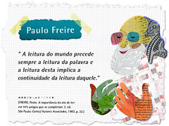 Paulo Freire Ilustração Para Ead Do Ipf Wwwpaulofreireor