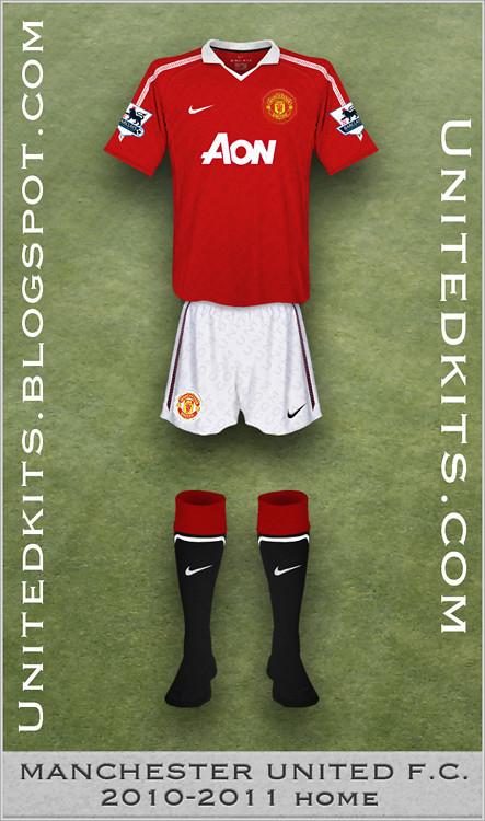224634bd6 ... Manchester United 2010-11 Home kit