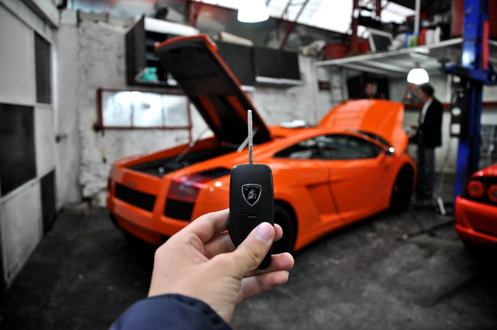 Lamborghini gallardo key