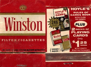 Winston | by Matchbook Collector