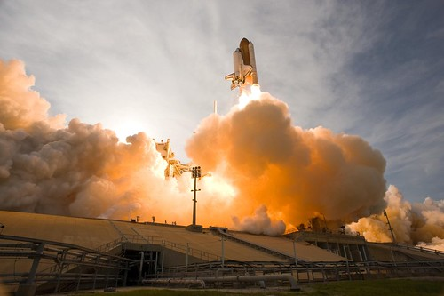 Liftoff of Space Shuttle Endeavour | by NASA on The Commons
