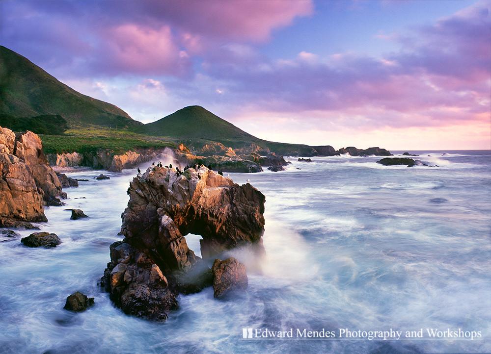 Sea Arch Soberanes Point Big Sur Coast Of California