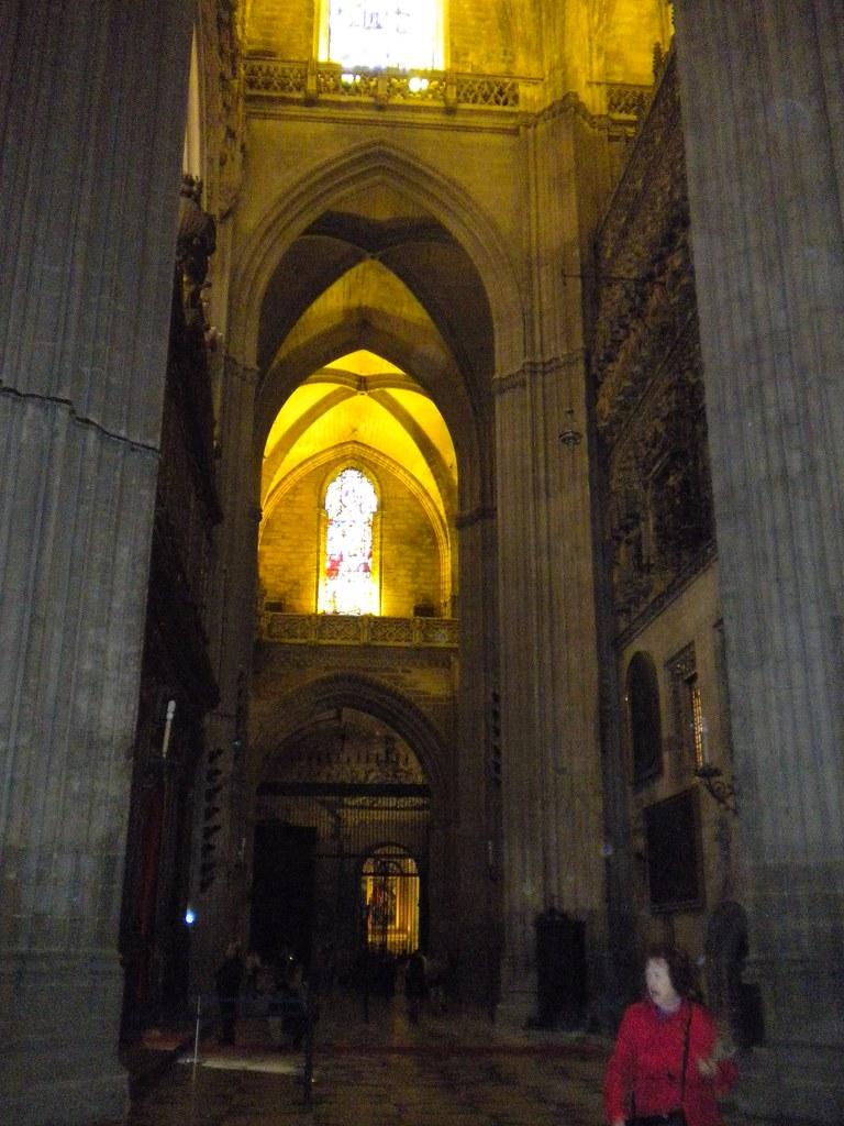 Interior catedral de sevilla interior de la catedral de se flickr - Catedral de sevilla interior ...