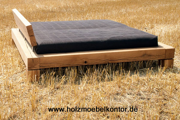 bett eiche 200x200 betten im balken bett shop www. Black Bedroom Furniture Sets. Home Design Ideas