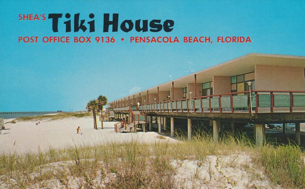 Shea's Tiki House - Pensacola Beach, Florida