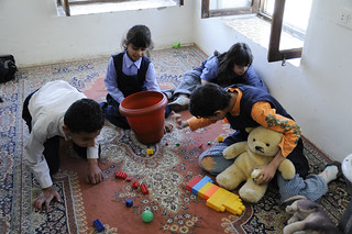 Children with special needs play at a school for autism | by World Bank Photo Collection