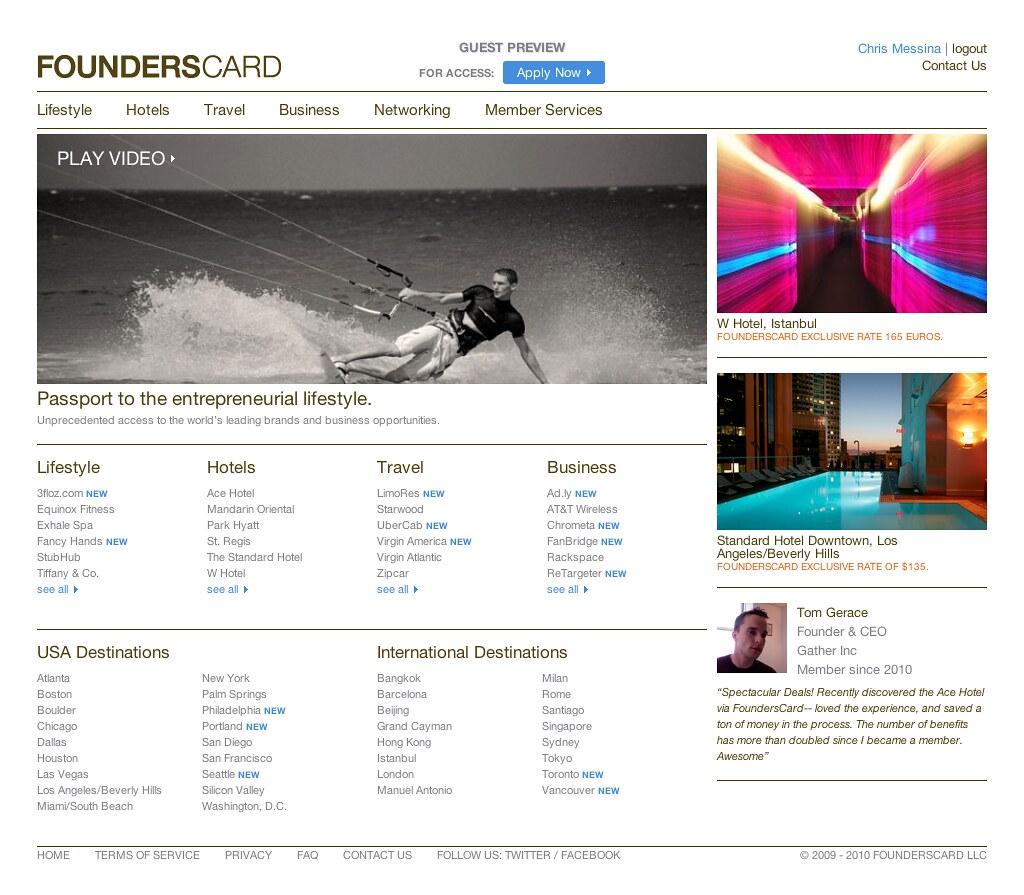 founderscard com | founderscard com/ | Chris Messina | Flickr
