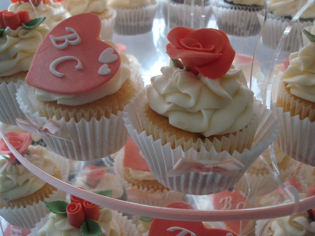 Wedding Cake Cupcakes From Scratch