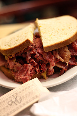 katz's sandwich | by David Lebovitz