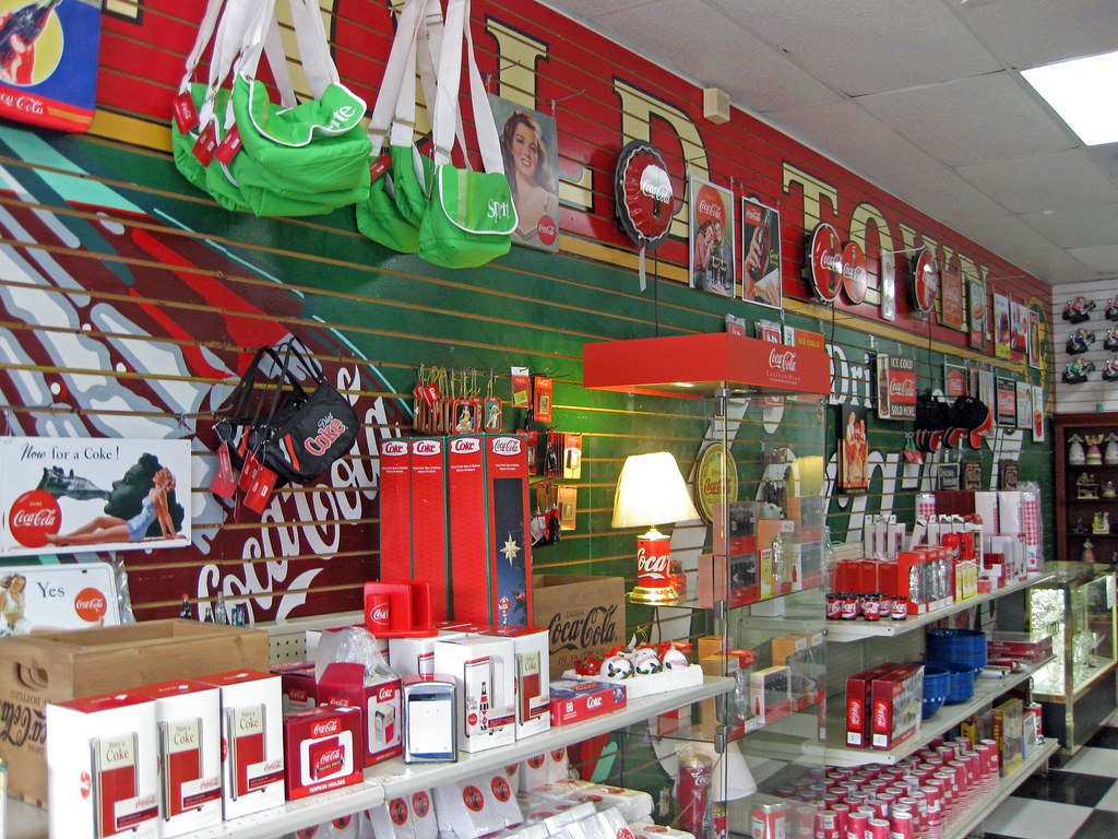 Coca Cola Gift Shop At Old Town Kissimmee Fl Rrusty