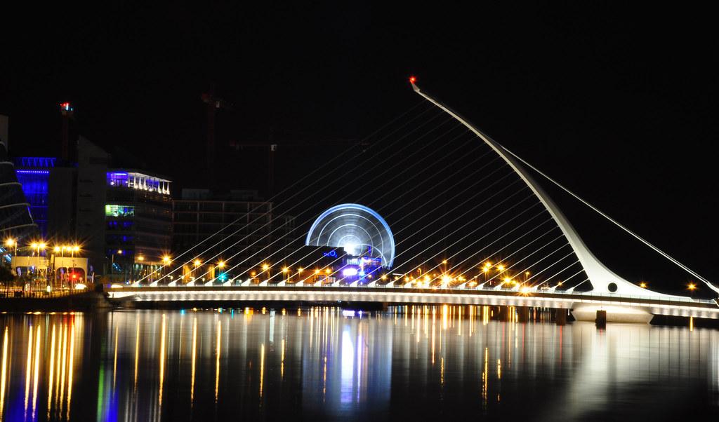Dublin City at Night Dublin City Night Lights