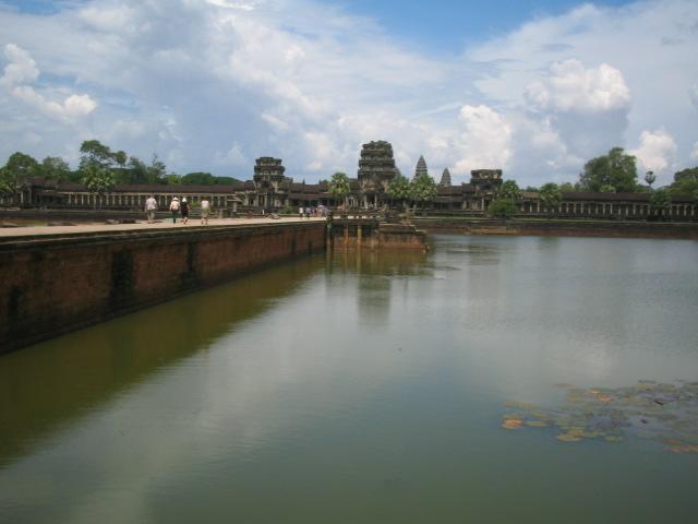 Walkway to Angkor Wat