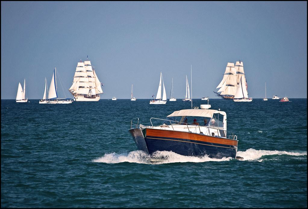 Sail Boating In Va Beach
