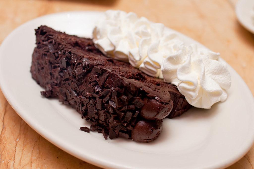 The Cheesecake Factory - Chocolate Tower Truffle Cake $7.5 ...