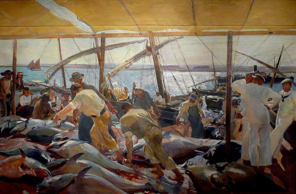 Joaquin Sorolla - La pesca del atun - Ayamonte (The Tuna C ...