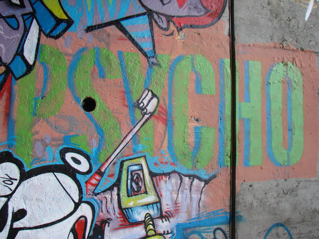 666 japhi by psycho graffiti stencil