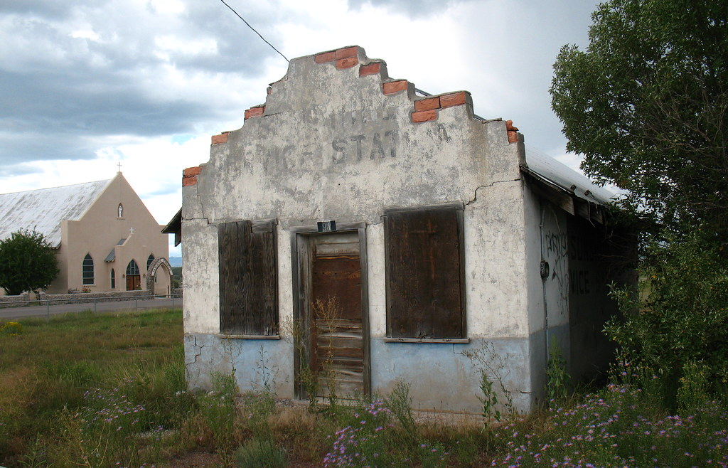 service garage in the past los ojos new mexico usa   a t flickr