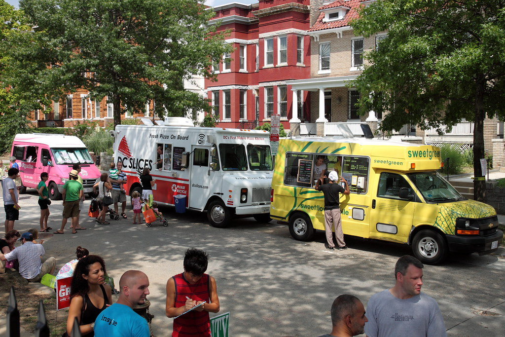 Gathering Food Trucks Baltimore
