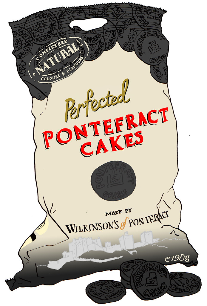 Pontefract Cakes The Original Name For These Small