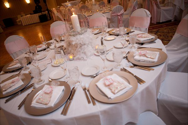 Pink Silver Table Setting Ashley Cornewell Flickr