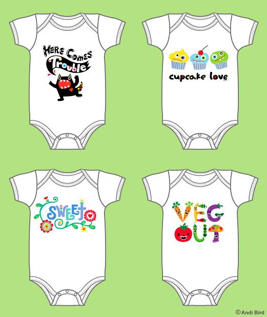 Onesie Designs 3 | Super Cute baby clothes. GO HERE: skreene… | Flickr