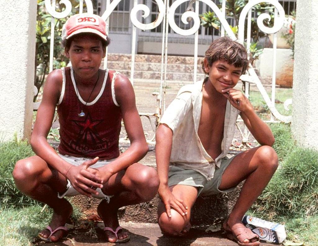 Shoeshine Boys, Santo Domingo, Den Dominikanske Republik Kent-9920