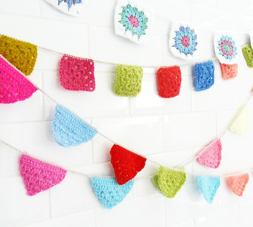 Granny Square Bunting | by Teawagon