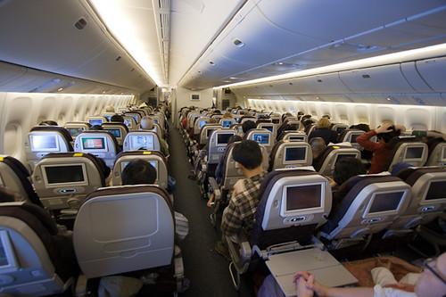 Korean Air: Seattle->Icheon | inside the Korean Air 777 ...