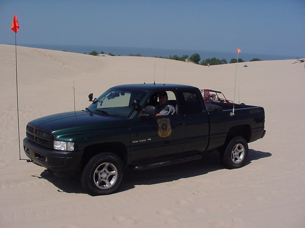 Michigan DNR Conservation Officer | Dodge Ram 1500 Patrol Tr… | Flickr