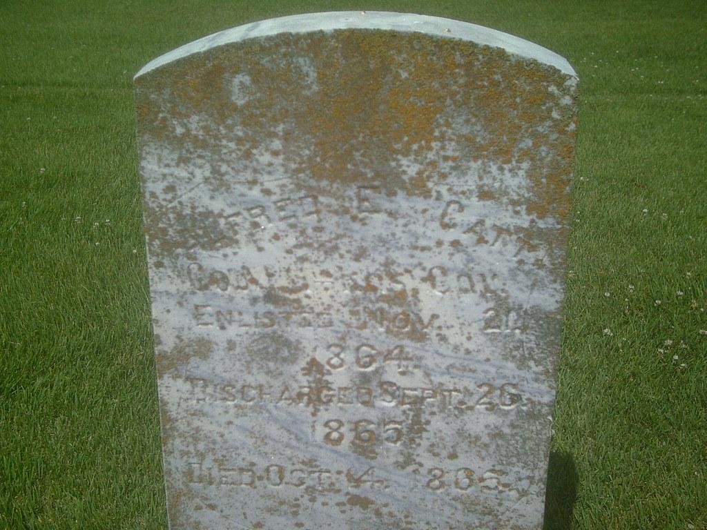 Alfred E Catt Company M 11th Kansas Cavalry John