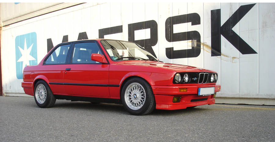 bmw e30 318is m technik 2 kreuzspeiche bbs erworben in. Black Bedroom Furniture Sets. Home Design Ideas
