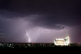 Temple in the Lightning | by D. Garding