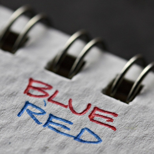 blue red in sketchpad | by MyArtistSoul