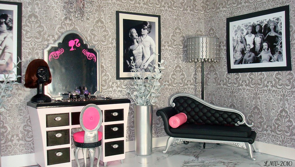 Barbie Vanity And Chaise Lounge Makeover These Are