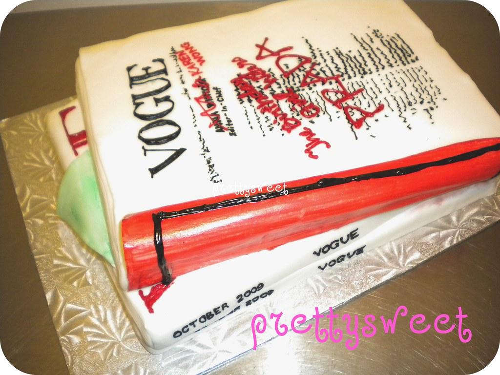 Vogue Magazine Cake The Side Of Karen S Vogue Magazine